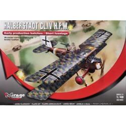 Mirage Hobby_ Halberstadt CL.IV HFW_ 1/48