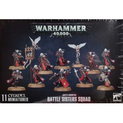 GW_ Battle Sisters Squad. Adepta Sororitas