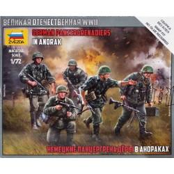 Zvezda_ German panzergrenadiers in Anorak_ 1/72