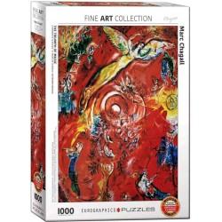 Eurographics_ El Triunfo de la Música (Marc Chagall). Puzzle 1000 piezas