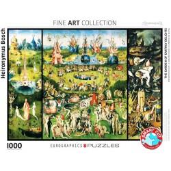 Eurographics_ El Jardín de las Delicias (El Bosco). Puzzle 1000 piezas