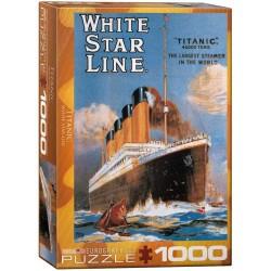 Eurographics_ White Star Line Titanic. Puzzle 1000 piezas