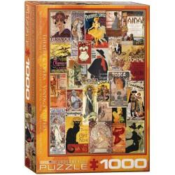 Eurographics_ Posters Vintage Teatro y Ópera. Puzzle 1000 piezas