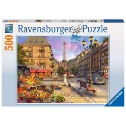 Ravensburger_ De paseo por Paris. puzzle 500 piezas.