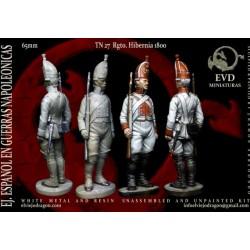 El viejo Dragón_ Regimiento Hibernia 1800