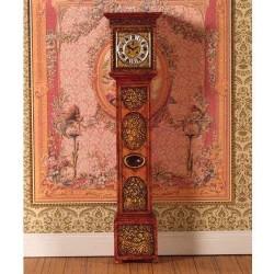 dollhouse 4875_ Reloj de Pared con toques dorados 1/12