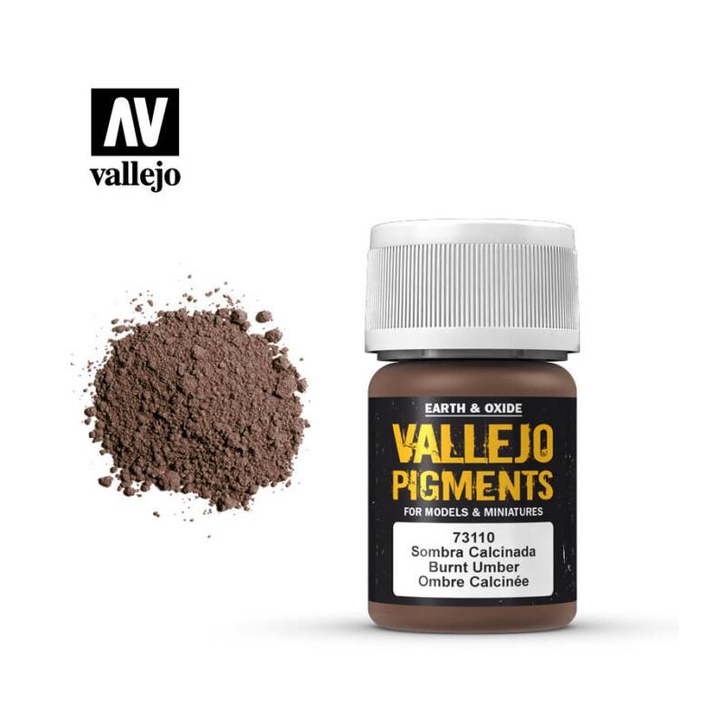 Vallejo_ Pigmento Sombra Calcinada 35 ml.
