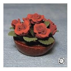 dh_ Maceta con con rosas...
