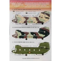 Calcas Chinook CH-47C/D Español Famet y Bheltra_ 1/48