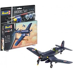 Revell_ F4U-1B Corsair Royal Navy. Model Set_1/72