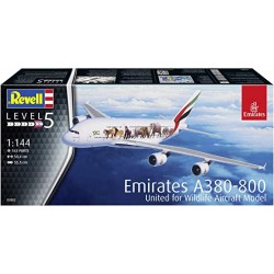 Revell_ Emirates A380-800 United for Wildlife_ 1/144