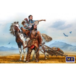 On the Great Plains. Indian...
