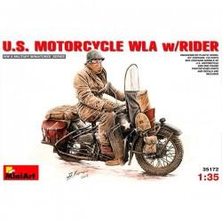 MiniArt_ US Motorcycle WLA w/Rider_ 1/35