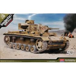 "Academy_ German Panzer III Ausf.J ""North Africa""_ 1/35"