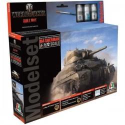 Italeri Modelset_ M4 Sherman. World of Tanks_ 1/72