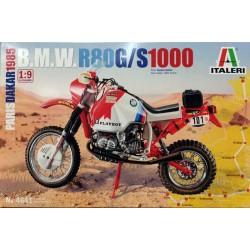 Italeri_ BMW R80G/S 1000cc. Paris-Dakar 1985_ 1/9