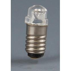 Bombilla 3V LED casquillo grueso 1/12