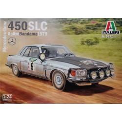 Italeri_ Mercedes-Benz 450 SLC Rallie Bandama 1979_ 1/24