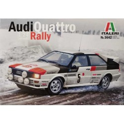 Italeri_ Audi Quatro Rally_ 1/24