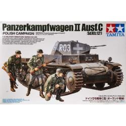 Tamiya_ Panzerkampfwagen II Ausf.C SdKfz.121_ 1/35