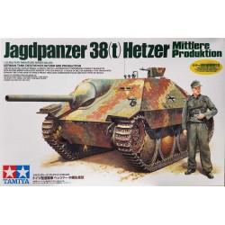 Tamiya_ Jagdpanzer 38(t) Hetzer Mid Production_ 1/35