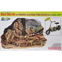 Dragon_ Red Devils w/ Welbike and Drop Tube Container Arnhem 1944_ 1/35