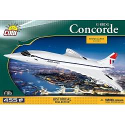 Creal 1917.Concorde 1917 G-BBDG Action Town (455 piezas)