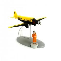 TIN29540. Colección Tintín_ El Avión Air Frace. ( La Oreja Rota)