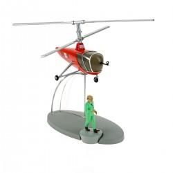 TIN29550. Colección Tintín_ El Helicóptero de de Sbrodj