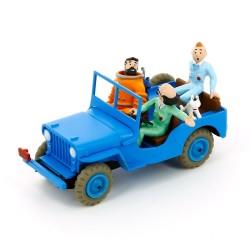 """TIN29509. Colección Tintín_  EL Jeep Azul """"Objetivo la Luna"""""""