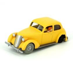 """TIN29510. Colección Tintín_  el coche amarillo estrellado """"El cangrejo de las pinzas de Oro"""""""