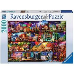 Ravensburger 16685_ Milagroso mundo de los libros. Puzzle 2000 piezas