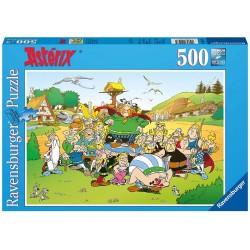 Ravensburger 14197_ El pueblo de Asterix. Puzzle 500 piezas.