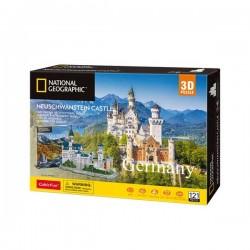 National Gegraphic. Castillo de Neuschwanstein, puzzle 3D