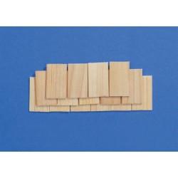 streets ahead 7012. Tejadillo de madera rectangulares.100 udes. 1/12