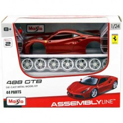 Maisto_ Ferrari 488 GTB. Die Cast Assembly Line_ 1/24