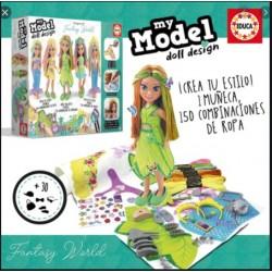 Educa_ My Model doll design. Fantasy World