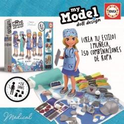 Educa 19949_ My Model doll design. Medicas/doctoras
