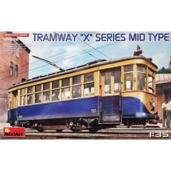 """MiniArt_ Tramway """"X"""" Series Mid Type_ 1/35"""