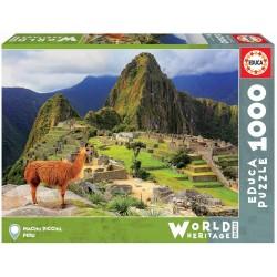Educa Puzzle World Heritage_ Machu Pichu, (Perú). 1000 piezas