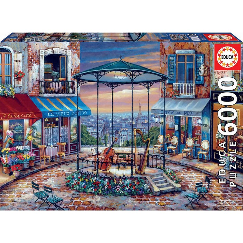 Educa 18016_ Preludio Nocturno Puzzle 6000 piezas.