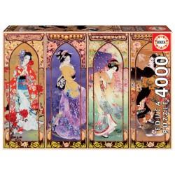 Educa 19055_ collage Japones. Puzzle 4000 piezas