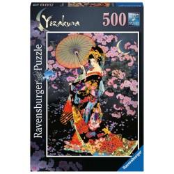 Ravensburger 16773_ Japonesa de Yozakura. Puzzle 500 piezas.