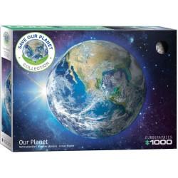 Eurographics 5541_ Salva el Planeta Tierra. Puzzle 1000 piezas