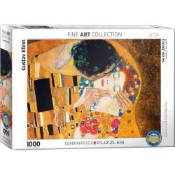 Eurographics 0142_ El Beso ( Klimt ). Puzzle 1000 piezas
