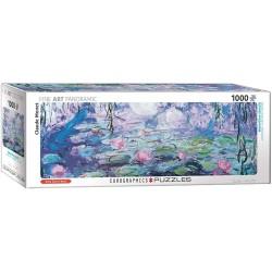 Eurographics 4366_ Los Nenúfares ( Monet ). Puzzle Panorámico 1000 piezas