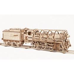 Ugears 70012_ Locomotora con Ténder