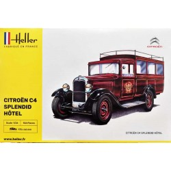 Heller_ Citroen C4 Splendid Hotel_ 1/24