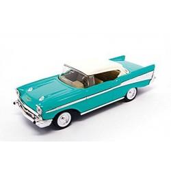 Road 94201_ 1957 Chevrolet Bel Air  Azul Turquesa 1/43