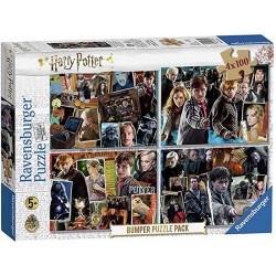 Ravensburger 06832_  El Mago Harry Potter 4 x 100 piezas.
